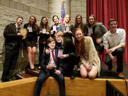 OHS Qualifies Seven to National Speech and Debate Tourney