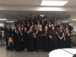 Wind Ensemble Scores Two Superior Ratings