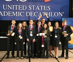 OHS Wins National Academic Decathlon Title
