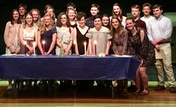 OHS Inducts 41 Students into French Honor Society